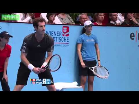 Andy Murray vs Vasek Pospisil Highlights Vienna 2014