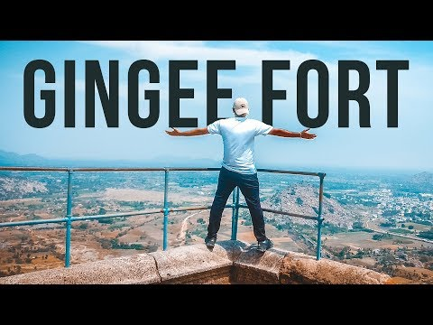 Hiking in Gingee Fort - India Travel Vlog