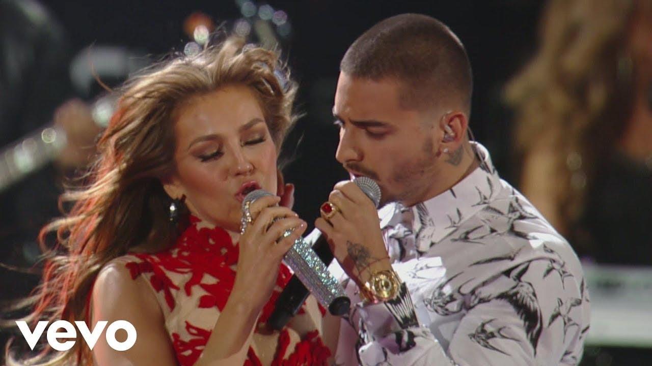 Thalía - Desde Esa Noche ft. Maluma #1