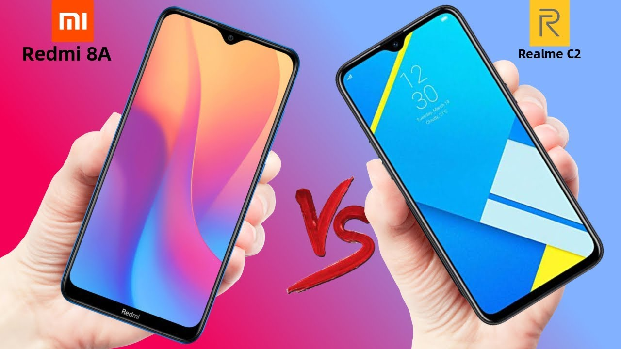 Xiaomi Redmi 8A VS Realme C2 - Which should you Buy ?