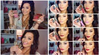 LIP SWATCHES & REVIEWGerard Cosmetics Lipglosses & Lipsticks