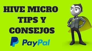 Hive micro gana 20 semanales con estos tips y consejos 2018