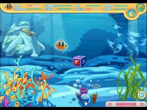 L 39 acquario blu gioco di animali youtube for Blu di metilene acquario