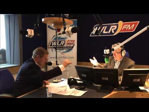Taoiseach Enda Kenny speaks to Billy McCarthy on WLR FM (Election 2016)