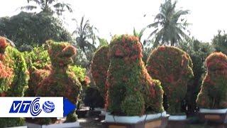Hút mắt vườn kiểng hình con vật khổng lồ | VTC