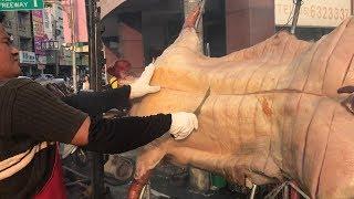 Taiwanese Street Food - Roast Whole Pig BBQ