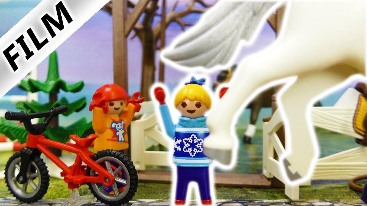 Playmobil Klettergerüst : Playmobil film deutsch hannah wird vom pferd getreten ist sie