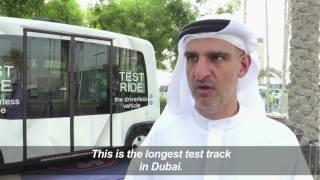 بالفيديو.. التشغيل التجريبي لأول مركبة ذاتية القيادة في دبي