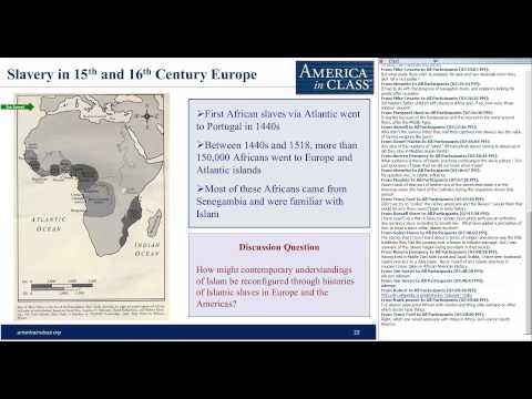 Slavery in the Atlantic World