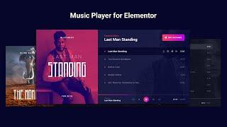Music Player for Elementor - Audio Player WordPress Plugin screenshot 5