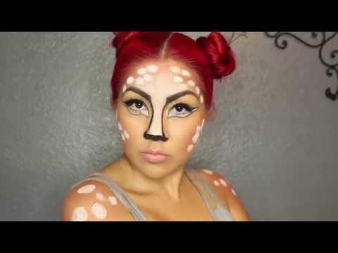 Deer makeup tutorial
