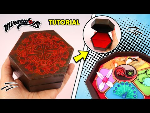 DIY / Tutorial: Individual Jewelry Box for All Miraculouses of Miraculous Ladybug