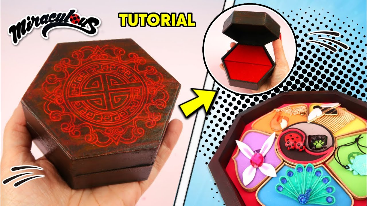 Diy Master Fu Jewelry Box For All Miraculouses