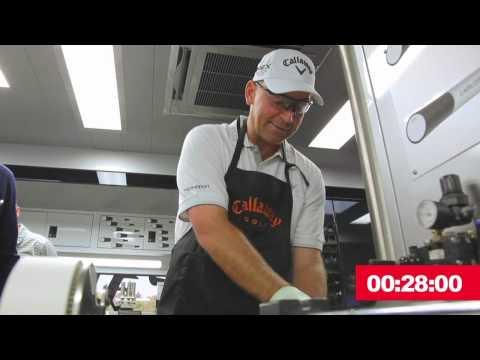 Thomas Bjorn 2012 Callaway Grip Race Challenge