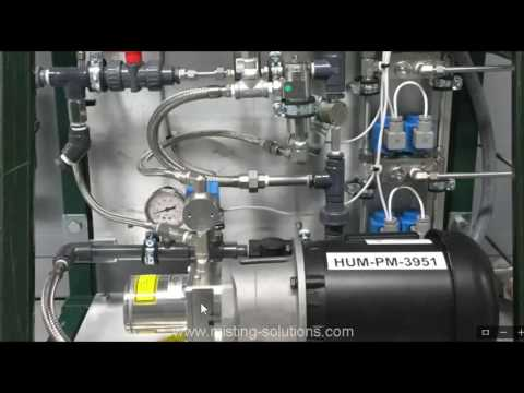 Mist Humidification - Bypass Piping Details - Advanced Misting Systems