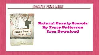 Beauty Food Bible Review, Download Your Free Natural Beauty Secrets Here Look 10 to 15 Years Younger | Missie Smith