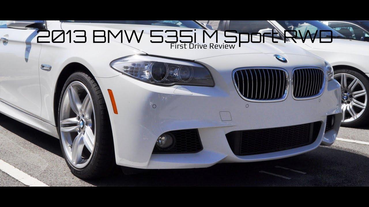 First Drive 2013 BMW 535i M Sport RWD