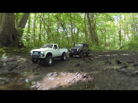 RC Trucks-RC4WD Defender D90 & Trail Finder 2-4x4 RC Adventure!
