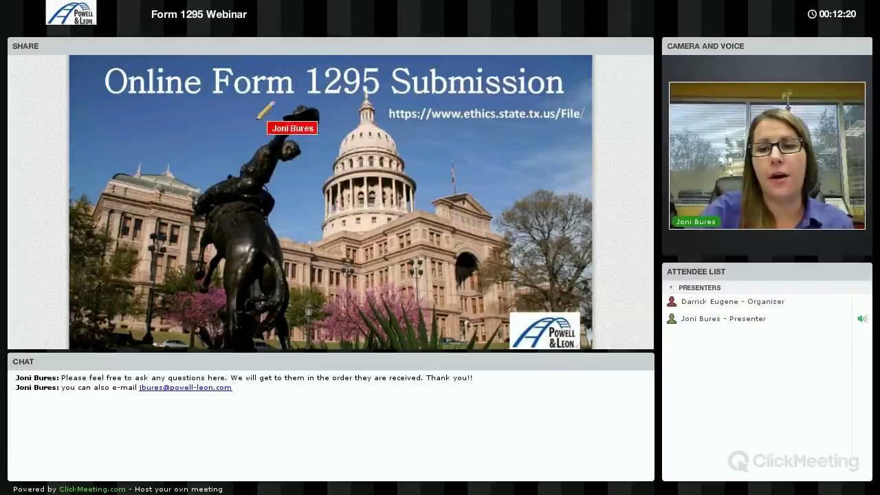 HB 1295 Webinar Presentation - YouTube