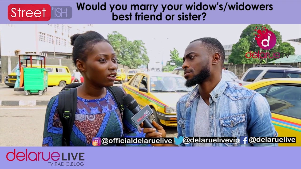 Would You Marry 'YOUR' Widow's Or Widower's Best friend or