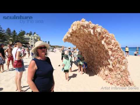 A Giant Wave Made of Thousands of Barbie Dolls