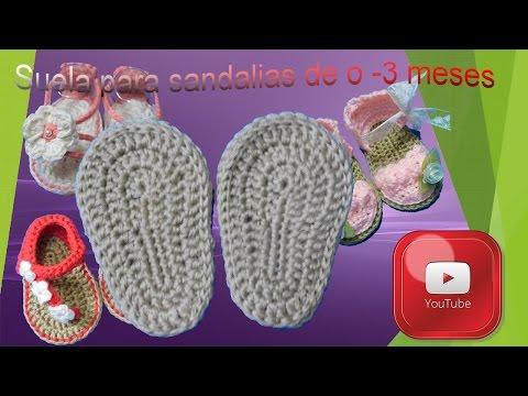 3 Meses Para 0 A Youtube De Sandalias TutorialSuela wklPTOuXiZ