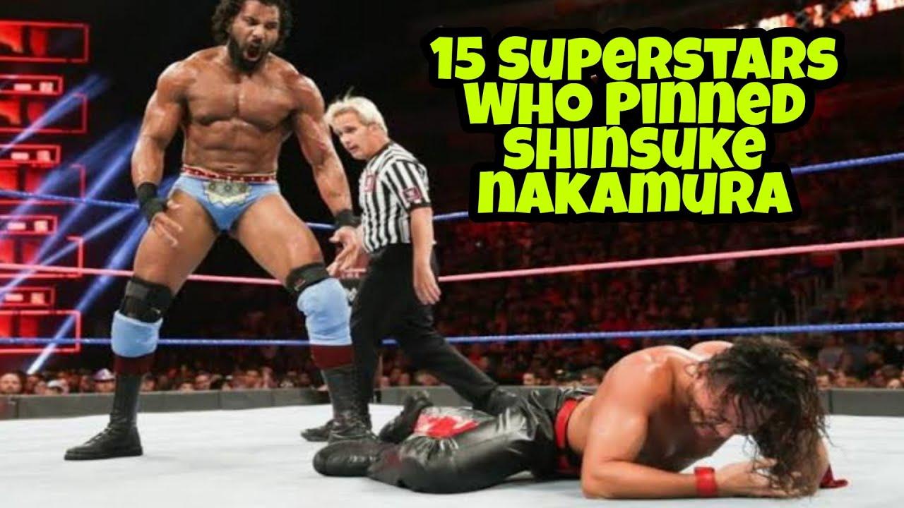 15 Superstars Who Pinned Shinsuke Nakamura In WWE HD