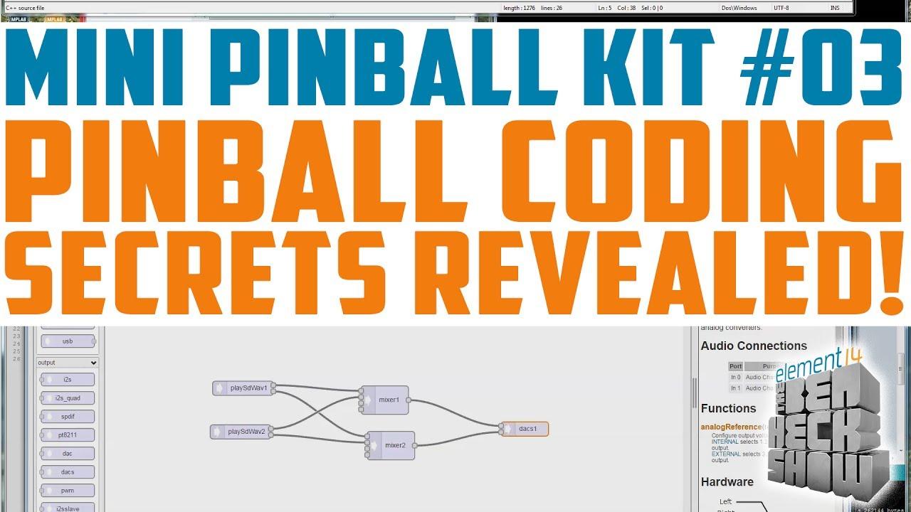 Mini Pinball 03: Codemania! SoundFX and State Machines