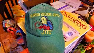 Hat embroidery on Brother PE800-Showing alignment problems