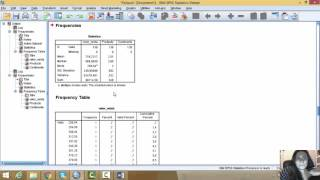 video tutorial ANALISIS ESTADISTICO Y PRUEBA DE HIPOTESIS SPSS