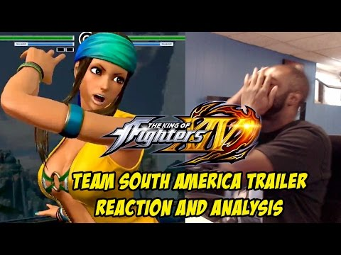 KING OF FIGHTERS XIV: TEAM SOUTH AMERICA TRAILER(REACTION AND ANALYSIS)