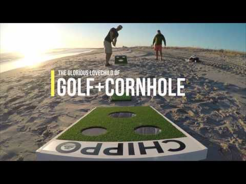 Chippo - Golf game for beach, backyard and tailgate!