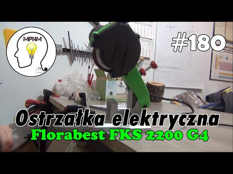 #180 - Ostrzałka elektryczna do łańcuchów Florabest FSG 85 D1