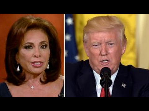 Judge Jeanine blasts 'full-scale assault' on President Trump