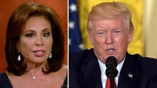 Judge Jeanine blasts 'full-scale assault' on President Trump