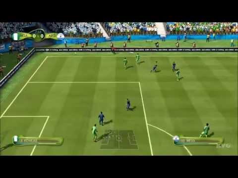 2014 FIFA World Cup Brazil - Nigeria vs Argentina Gameplay [HD]