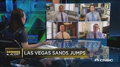 Las Vegas Sands earnings