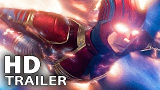 CAPTAIN MARVEL: 8 Minutes Clips + Trailer (2019)