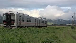 GV-E400系 2B 米坂線団体臨時列車(9823D)@2020.9.27