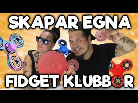 Skapar Egna Fidget Spinner Klubbor