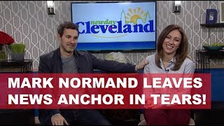 Mark Normand leaves News Anchor in tears!