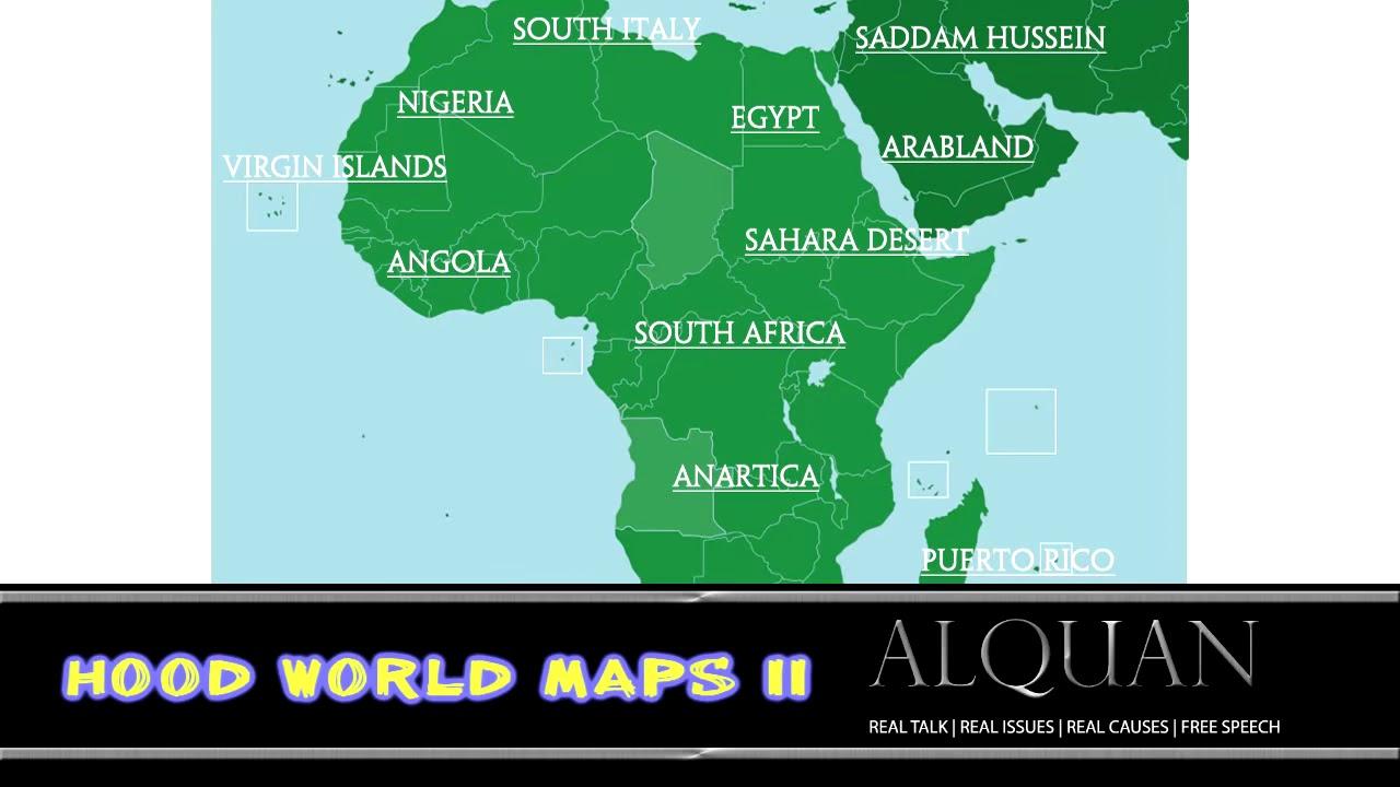 Hood World Maps II