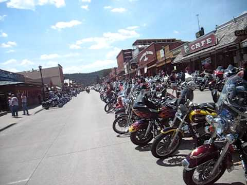 Hill City~  Black Hills ~ South Dakota Motorcycle