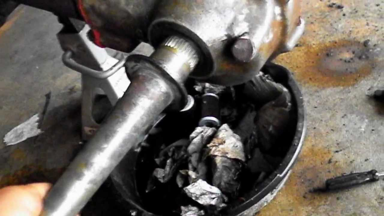 How To Change Rear Axle Hubs Gears Bearings On 1995