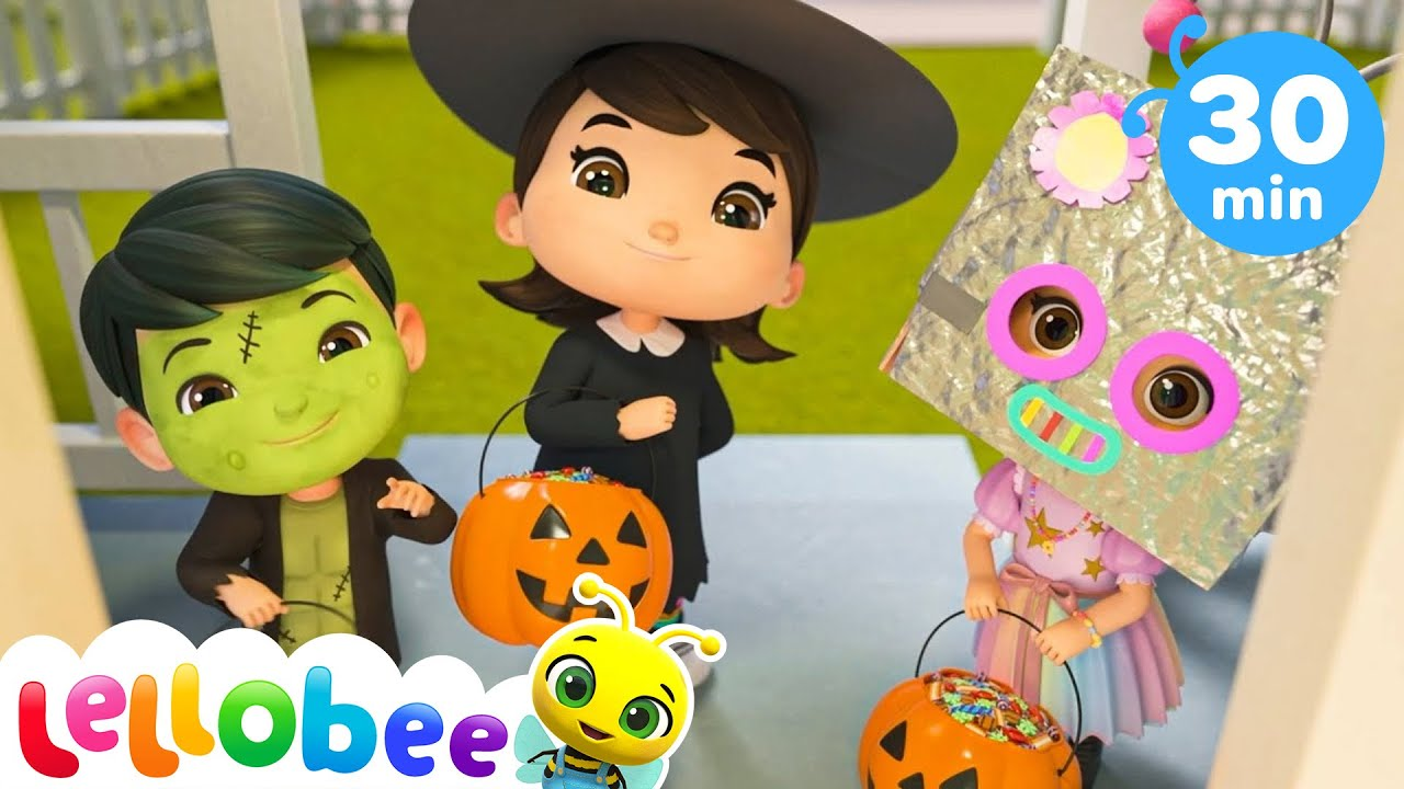 Halloween Tricks and Treats! | Nursery Rhymes & Kids Songs - ABCs and 123s | Little Baby Bum