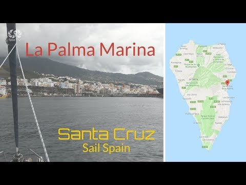 Sail Spain   La palma marina santa cruz   sea tv