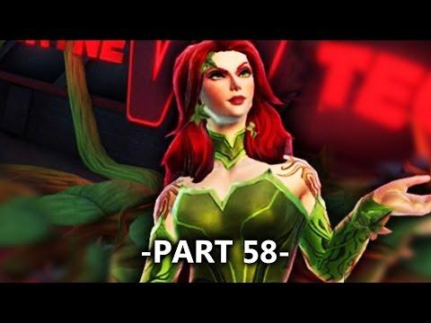 Poison Ivy All Battles Gameplay Part 58   DC Legends