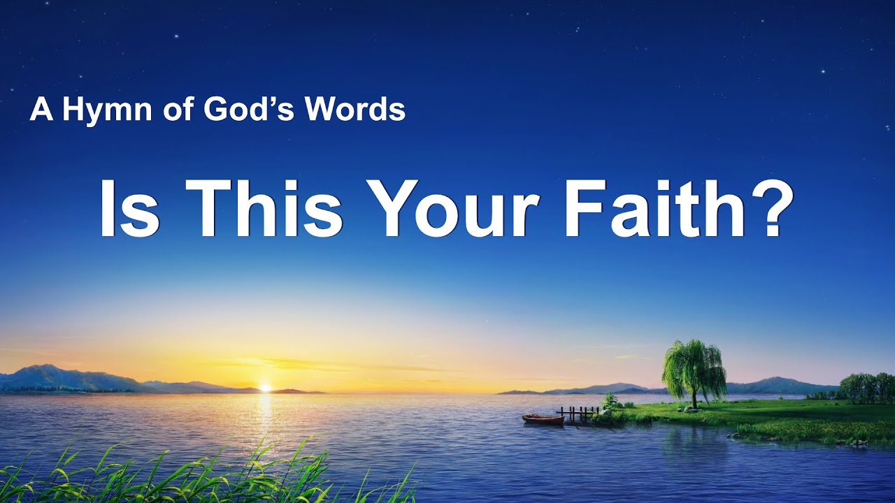 """""""Is This Your Faith?"""" 