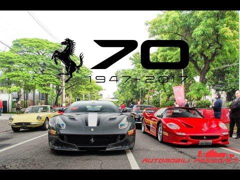 Ferrari 70 Anni no Brasil - Veja a 812 SuperFast de perto