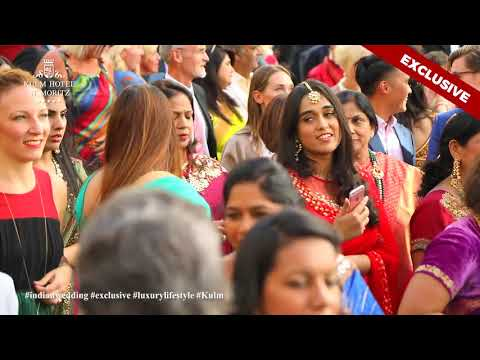 Bombay Baja performing at £6 million Pound Indian wedding in Switzerland